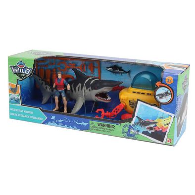 Wild Quest Ancient Shark Research Submarine