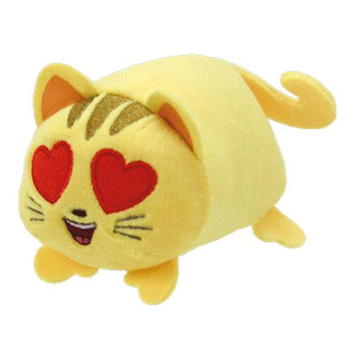 TY Teeny 4 Inch Emoji Movie Cat Heart Eye