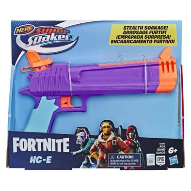 NERF Super Soaker Toy Water Blaster Fortnite HC-E