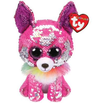 Ty Flippables 6 Inch Regular Size Charmed Chihuahua