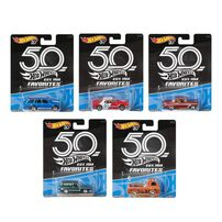 Hot Wheels 50th Anniversary Favorites Series - Assorted