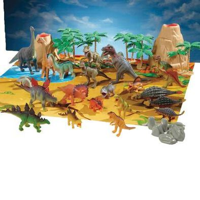 Animal Zone Dino Tub (40Pcs)