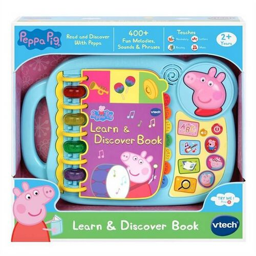 Peppa Pig Learn N Discover Book