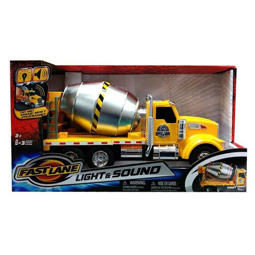 Fast Lane Lights and Sounds Cement Truck