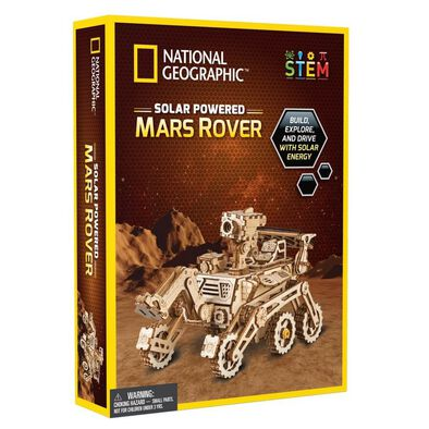 National Geographic Solar Powered Mars Rover