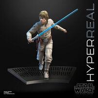 Star Wars The Black Series Hyperreal Luke Skywalker Toy Action Figure