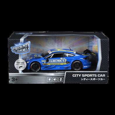 Speed City City Street Car Mercedes