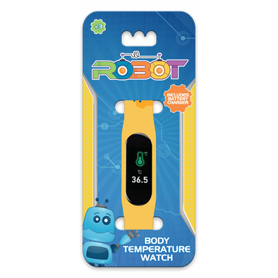 Kids Temperature Watch Robots