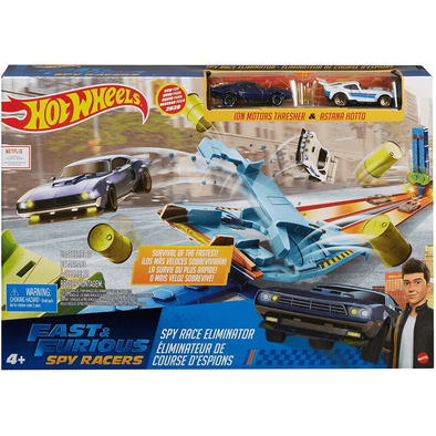 Hot Wheels Fast & Furious Spy Racers Drag Race