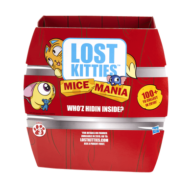 Lost Kitties Mice Mania Mice Minis Toy Series 3
