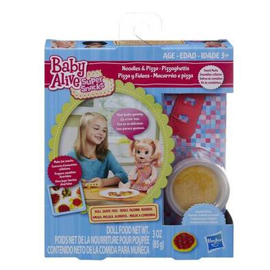 Baby Alive Super Snacks Noodles and Pizza Snack Pack (Blonde)