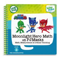 LeapFrog LeapStart 3D Book PJ Mask Moonlight Hero Math