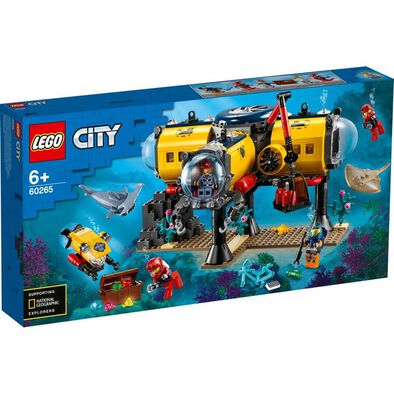 LEGO City Oceans Ocean Exploration Base 60265