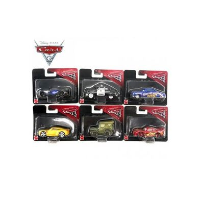 Disney Pixar Cars Plastic 1:55 Scale - Assorted