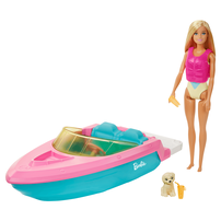 Barbie Estate Boat With Doll