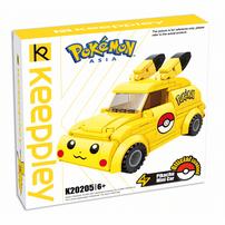 Qman Keeppley Pokémon Pikachu Mini Car