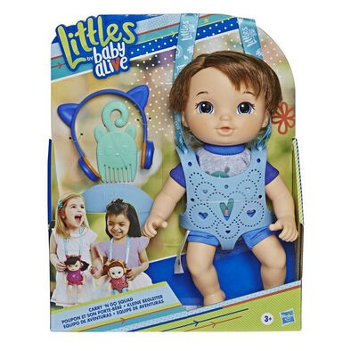 Baby Alive Littles Carry n Go Squad Boy