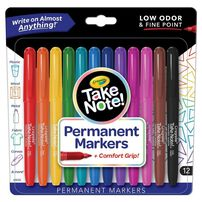 Crayola Take Note Permanent Marker