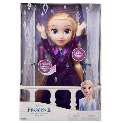"Disney Frozen 2 ""Into The Unknown"" Elsa Doll"
