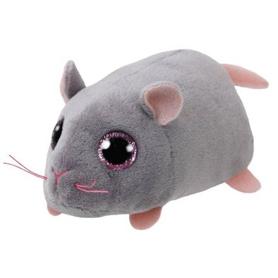 Ty Teeny 4 Inch Miko The Grey Mouse