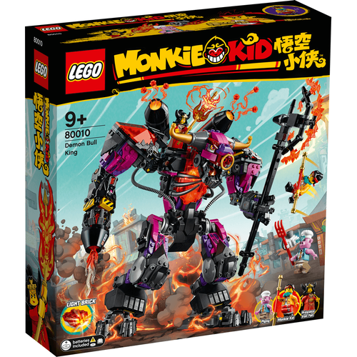 LEGO Monkie Kid Demon Bull King 80010