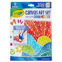 Crayola Pixel Canvas Art