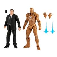 Marvel Legends Series 6 Inch Happy Hogan And Iron Man Mark 21