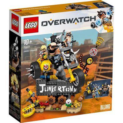 LEGO Overwatch Junkrat and Roadhog 75977
