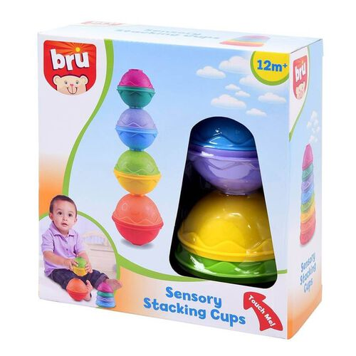 BRU Sensory Stacking Cups
