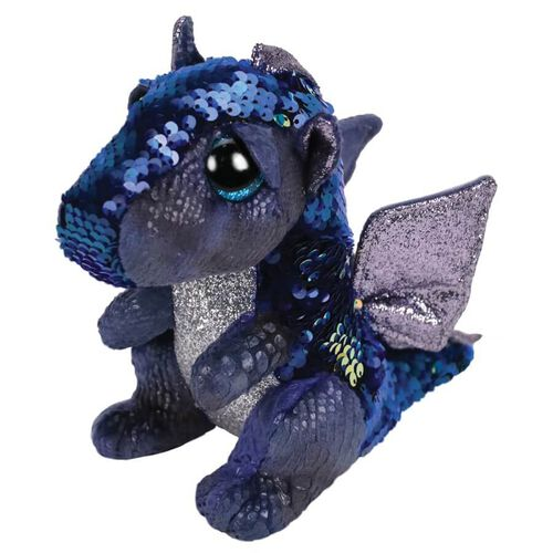 Ty Flippables 6 Inch Regular Size Kate Sequin Dragon