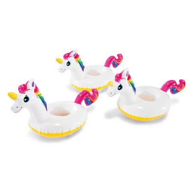 Intex Unicorn Drink Holder 3 Pack