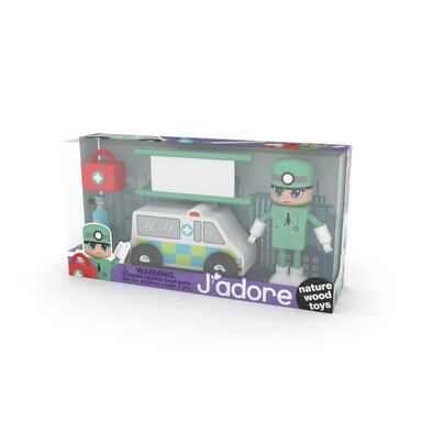 J'adore Ambulance Man Gift Box