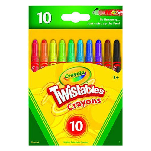 Crayola 10Ct Mini Twistables Crayons