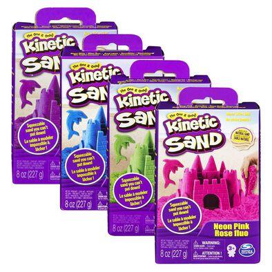 Kinetic Sand Neon Sand 8Oz - Assorted