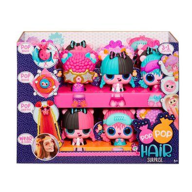 Pop Pop Hair Surprise 3-In-1 Pop Pets