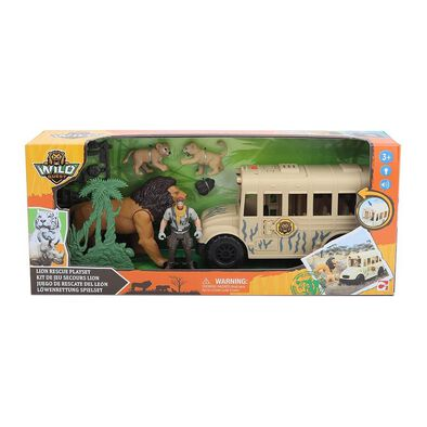 Wild Quest Lion Rescue Playset