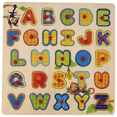 Universe Of Imagination -Alphabet,Numbers and Shapes Puzzle - Assorted