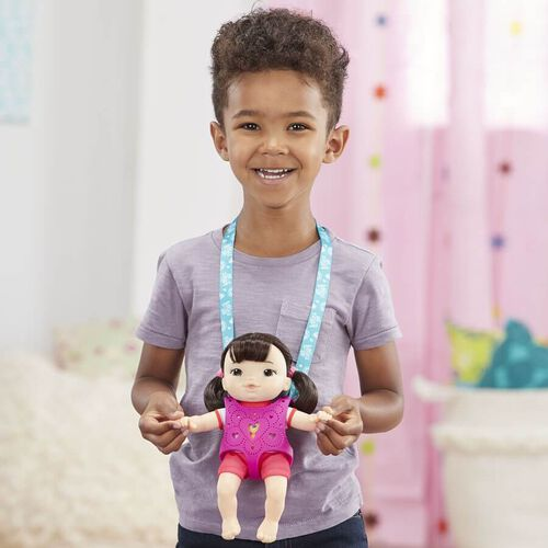 Baby Alive Littles Carry'n Go Squad Girl