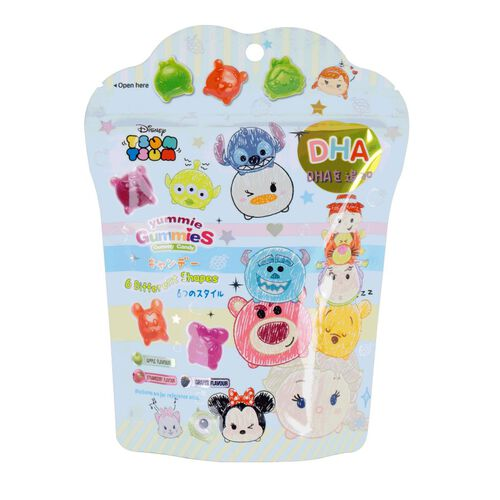 Tsum Tsum Gummy Pack With DHA 60g