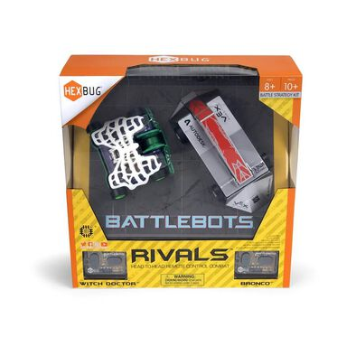 Hexbug BattleBots Rivals (Bronco and Witch Doctor)