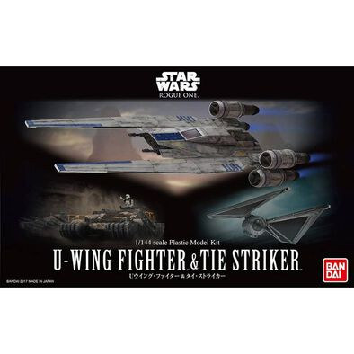 Star Wars 1/144 U-Wing Fighter and Tie Striker