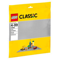LEGO Classic Gray Baseplate 10701