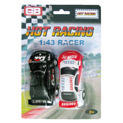 GB Road Race Vehicle 2 Pack