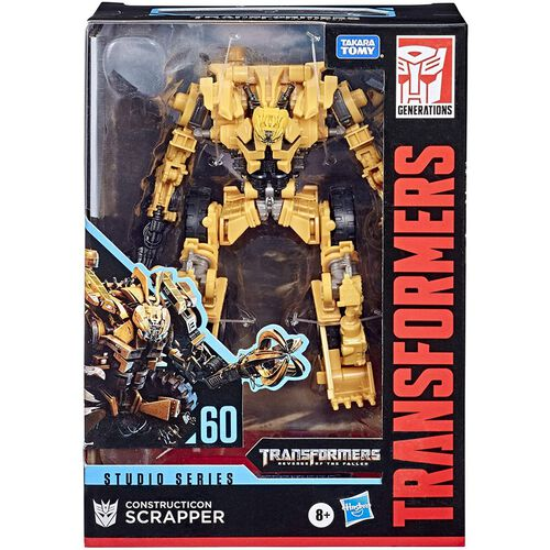 Transformers Studio Series Voyager Constructicon Scrapper
