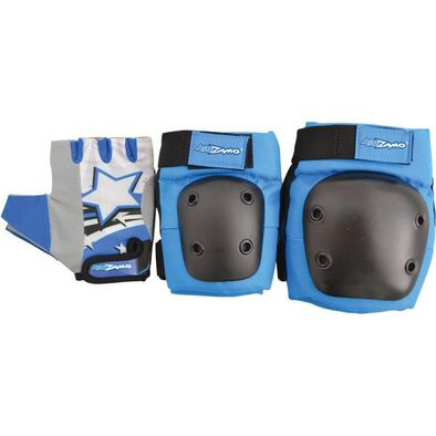 Kidzamo Blue Glove Pad Set (S)
