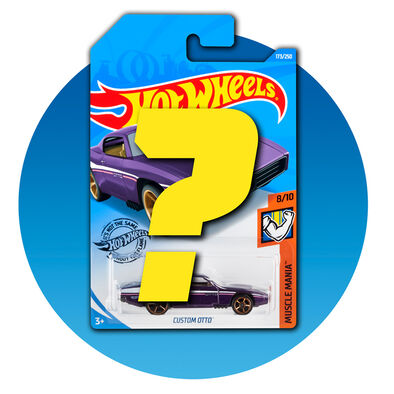 Hot Wheels Basic Single Car Mystery Pick - Assorted