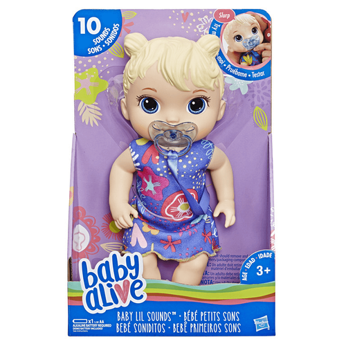 Baby Alive Sweet Tears Baby (Black Curly Hair)