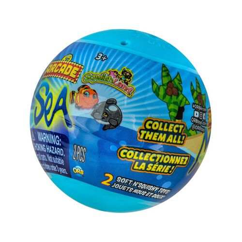 Orb Arcade Capsules Sqwishland Sea Collection
