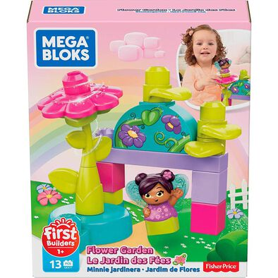 Mega Bloks First Builders Flower Fairies Flying School