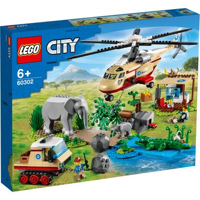 LEGO City Wildlife Rescue Operation 60302